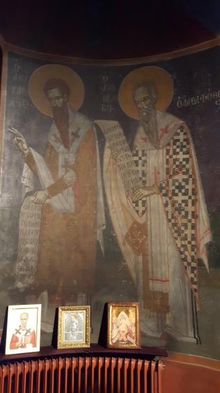 Τρείς Ιεράρχες και Άγιος Ιάκωβος ο Αδελφόθεος